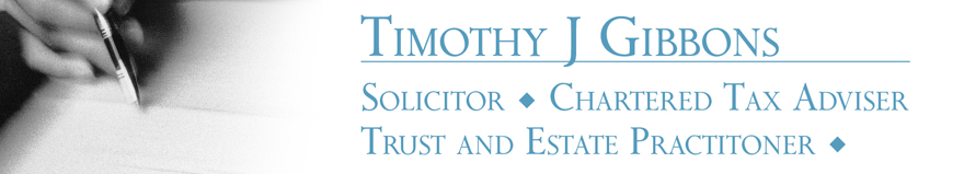 Timothy J Gibbons Alresford Solicitor